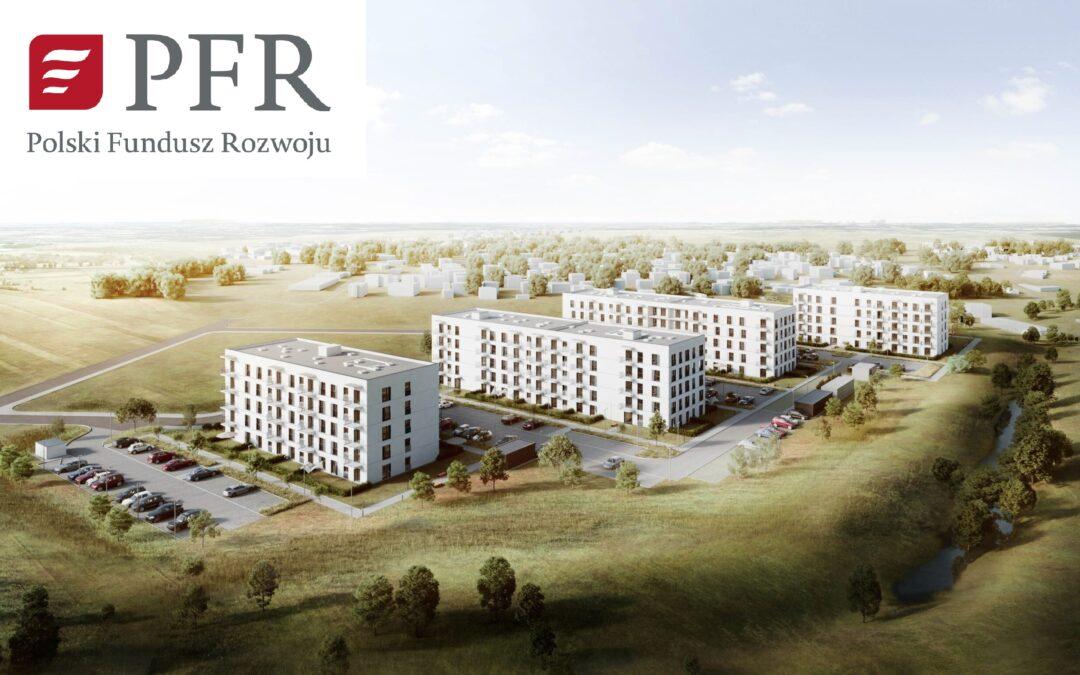 Umowa z PFR o roboty budowlane MDR Nakło nad Notecią